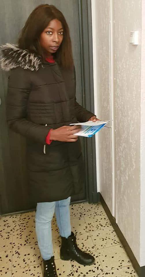 «Mme Marième SO soutient Agir aux Mureaux avec Agnès ETENDART» par Amadou Bal BA - http://baamadou.over-blog.fr/