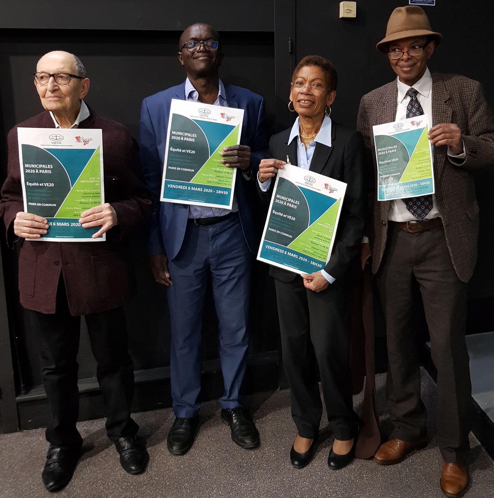 «Le Mouvement Equité soutient Paris en Commun avec Mme Anne HIDALGO, pour une égalité réelle, ici et maintenant» par Amadou Bal BA - http://baamadou.over-blog.fr/8