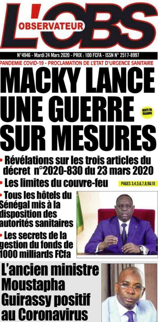 «8ème jour de confinement : Etat d'urgence au Sénégal, péril jaune et nécessité d'une solidarité internationale» par Amadou Bal BA - http://baamadou.over-blog.fr/