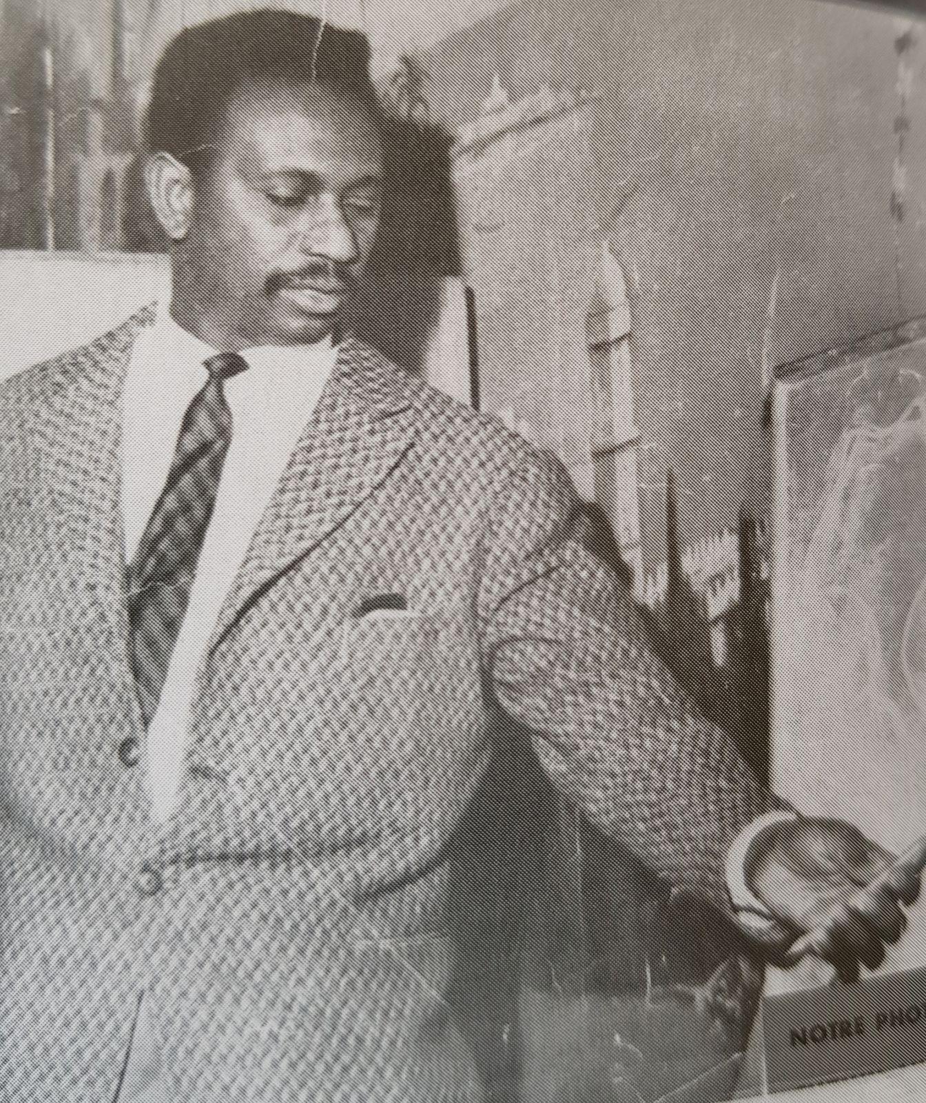 Cheikh Anta DIOP, un égyptologue (1923-1986).