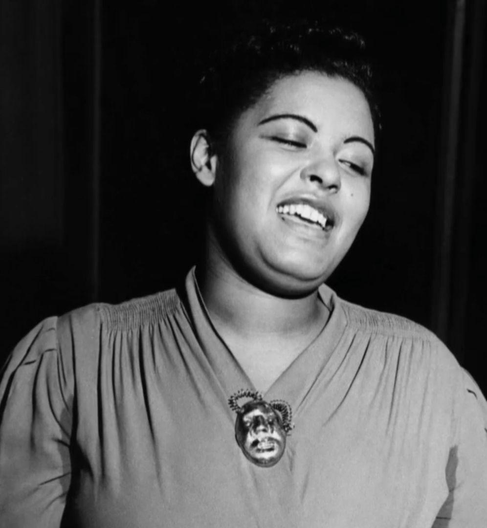 Billie HOLIDAY, chanteuse de jazz (1915-1959).