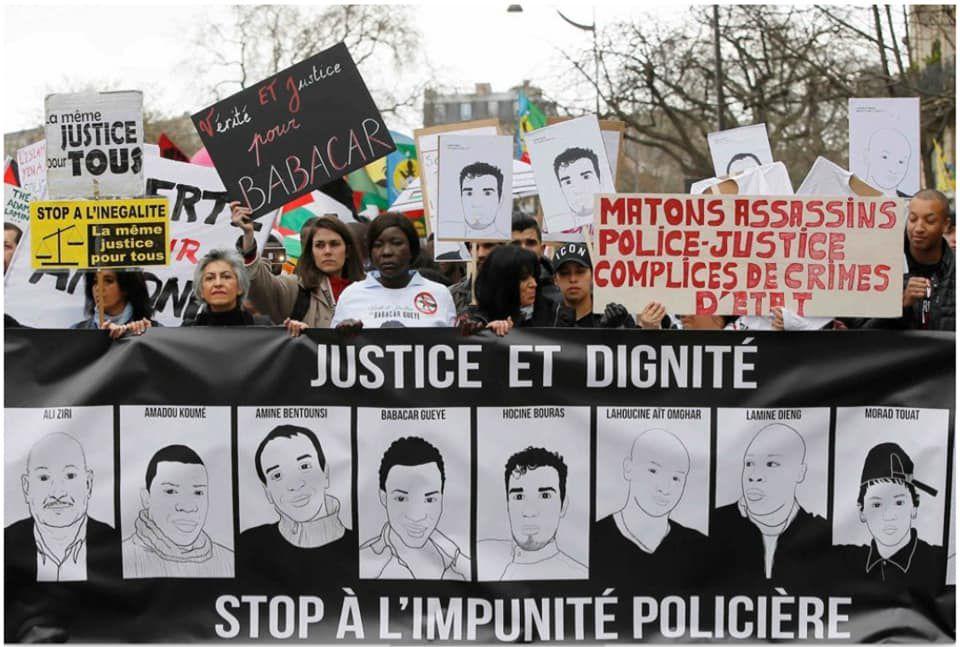 «Le président MACRON assume le passé colonial et esclavagiste de la France par un soutien inconditionnel à sa Police» par Amadou Bal BA - http://baamadou.over-blog.fr/