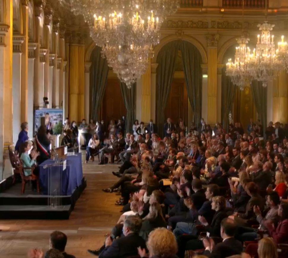 «Mme Anne HIDALGO réélue maire de Paris» par Amadou Bal BA - http://baamadou.over-blog.fr/