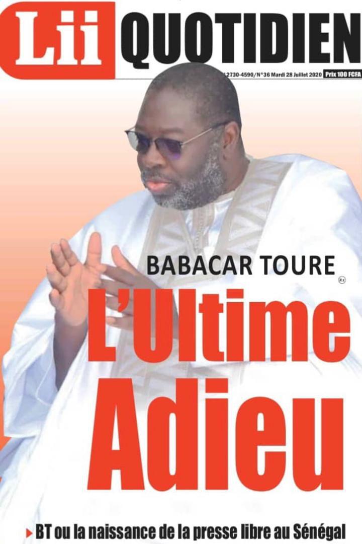 «Babacar TOURE (1951-2020), fondateur du Groupe Sud Communication, une presse indépendante» par Amadou Bal BA - http://baamadou.over-blog.fr/