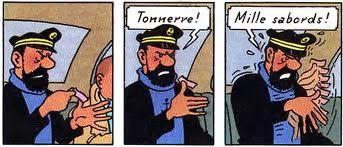 Le sparadrap du capitaine Haddock