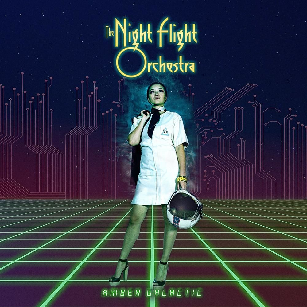 THE NIGHT FLIGHT ORCHESTRA - Amber Galactic (OFFICIAL TRACK BY TRACK) avec des membres de SOILWORK & de ARCH ENEMY