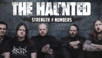 Lyric vidéo de THE HAUNTED - Monuments + The Fall (guitar/Bass play