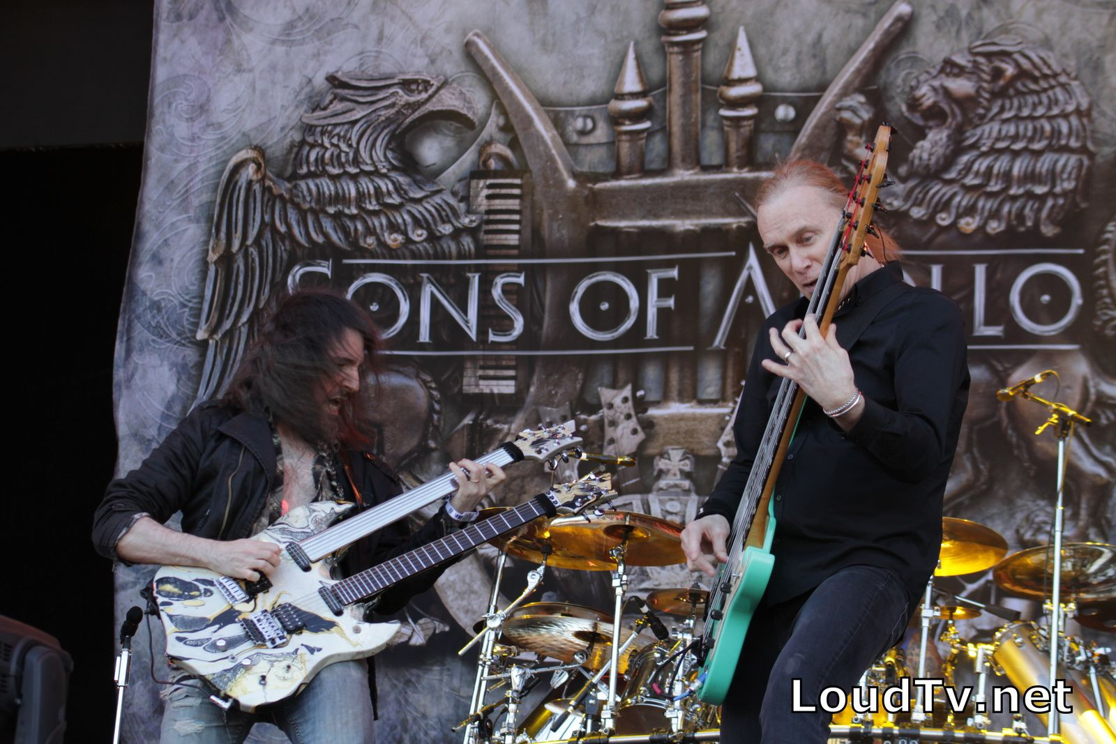 SONS OF APOLLO - Les photos du Hellfest 2018 !
