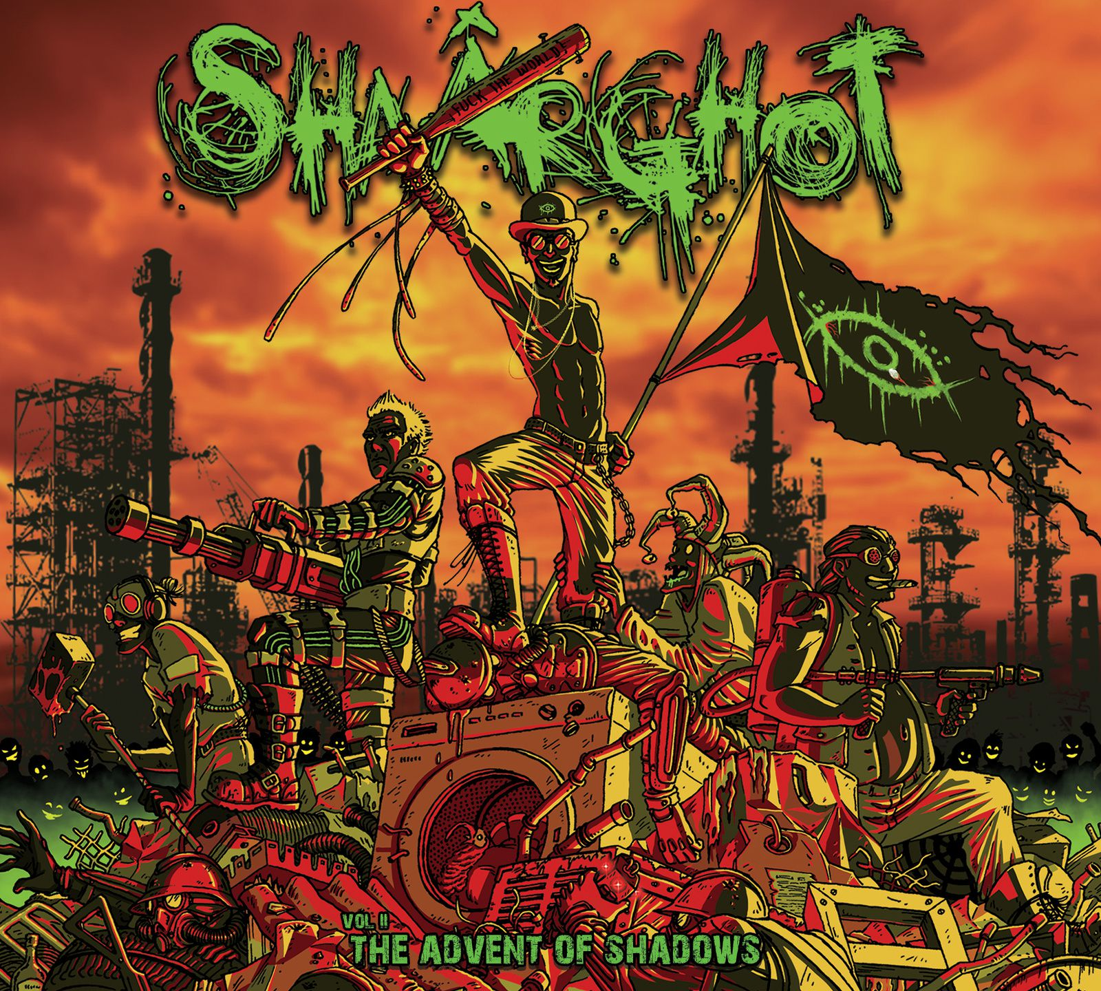 shaârghot volume 2 artwork