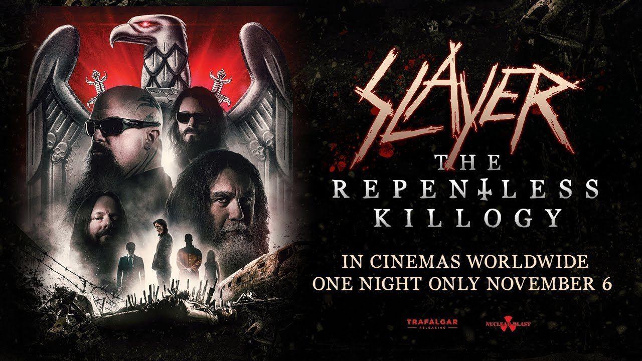 Le dernier concert de SLAYER dans les cinémas français à partir de mercredi !