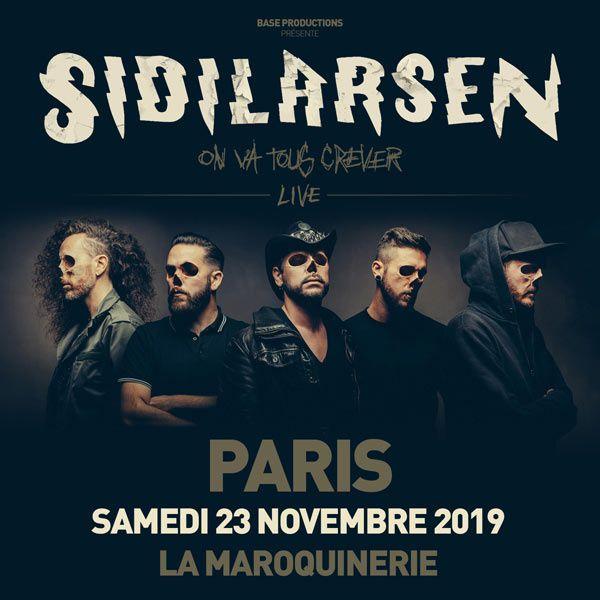 Gagnez 2 places pour le concert de SIDILARSEN à Paris ce samedi !!!