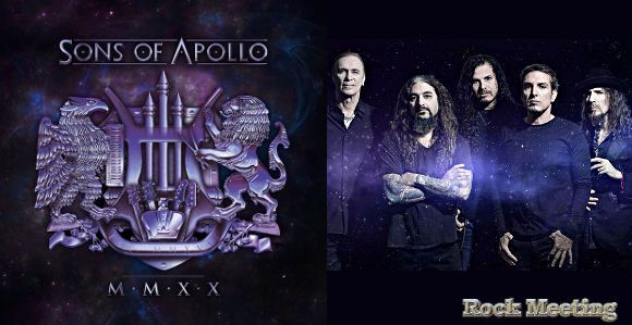 SONS OF GENIUS : CHRONIQUE DU DEUXIEME ALBUM DE SONS OF APOLLO