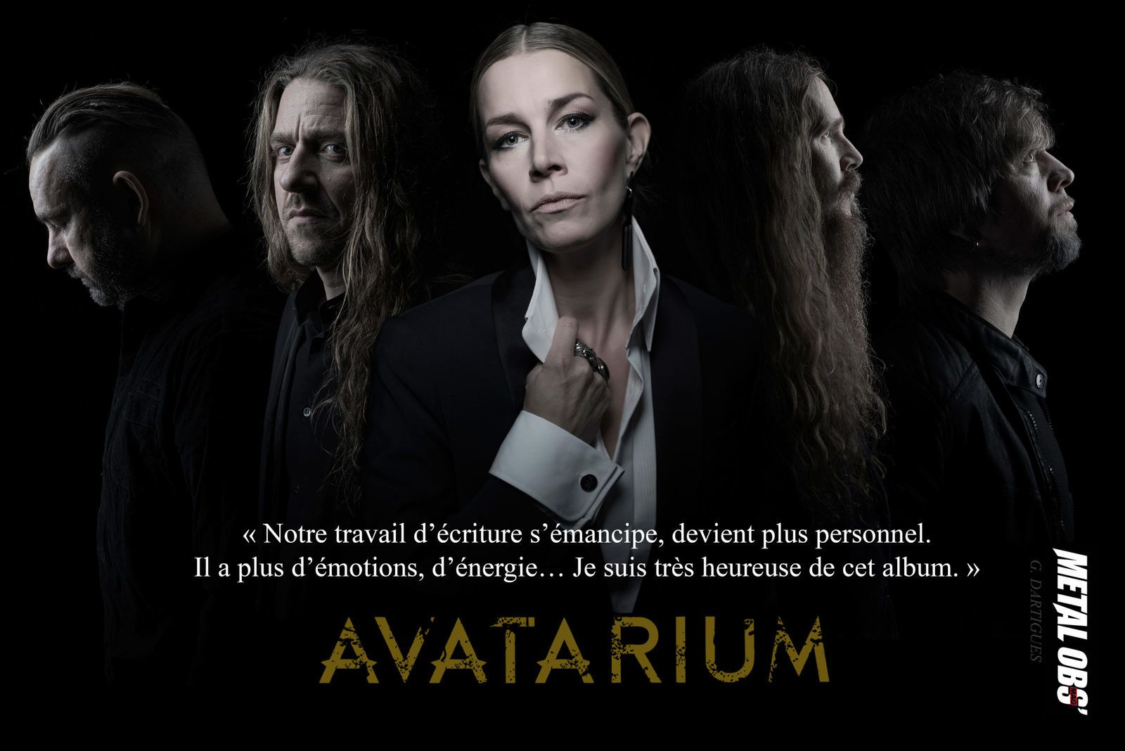 CHRONIQUE DE L'ALBUM D'AVATARIUM THE FIRE I LONG FOR : UN SOMBRE GOSPEL !