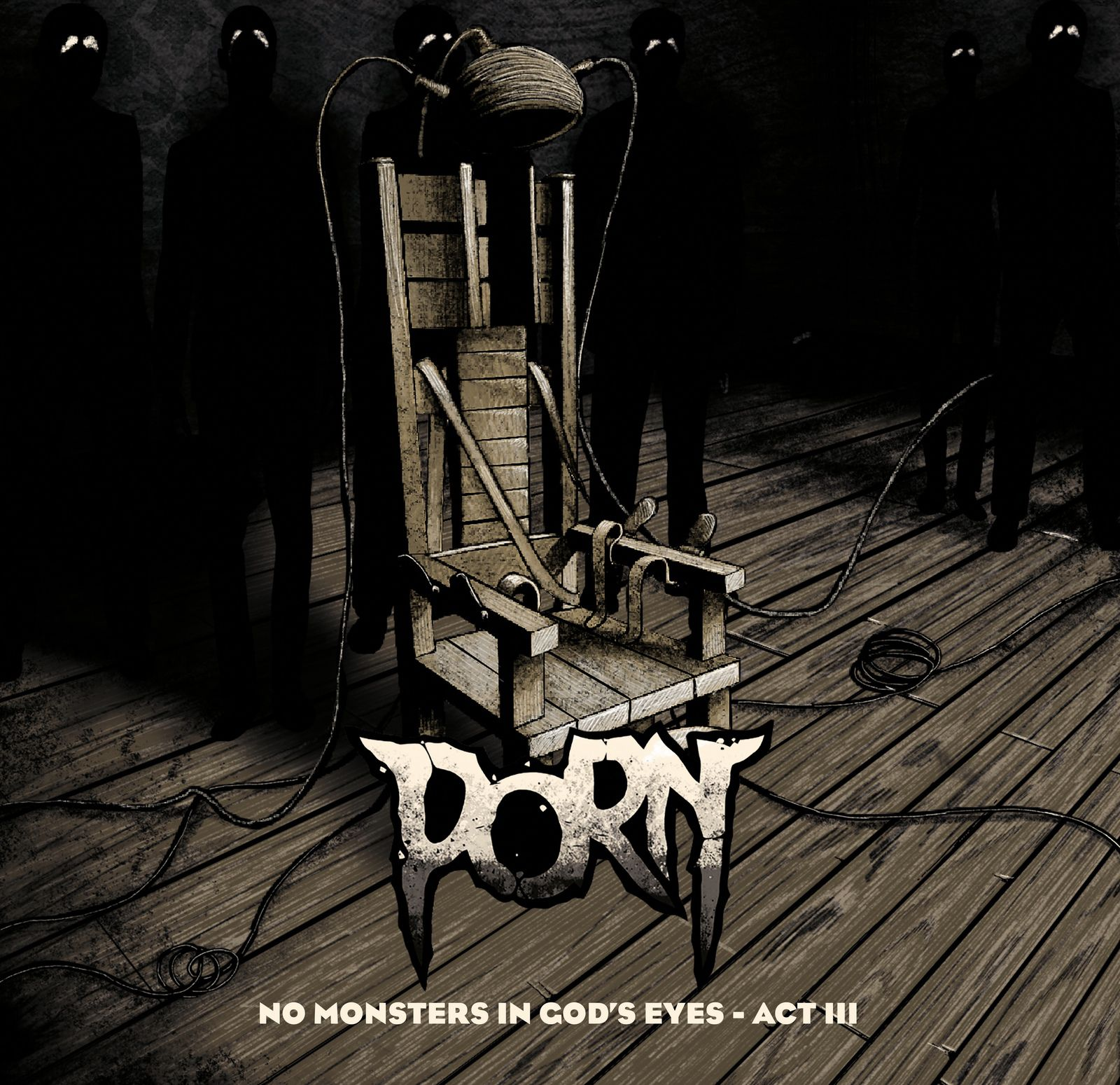 """EXCLU - Interview avec PORN pour l'album """"No Monsters in God's Eyes. Act III"""""""