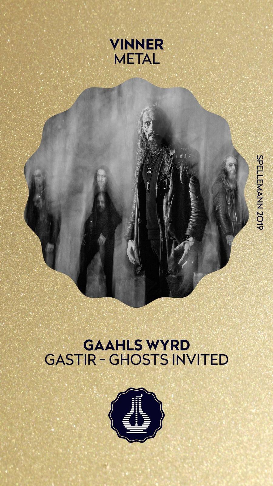 """GAAHL  a gagné le Grammy Norvégien dans la Catégorie """"Metal"""""""