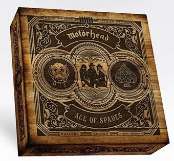 """NEWS - Un nouveau coffret du groupe MOTORHEAD pour les 40 ans de l'album """"Ace Of Spades"""""""