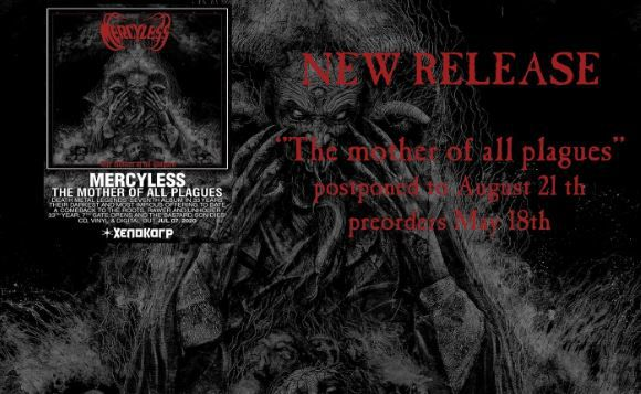 "Chronique du nouveau MERCYLESS : ""Death metal for passion not for fashion""..."