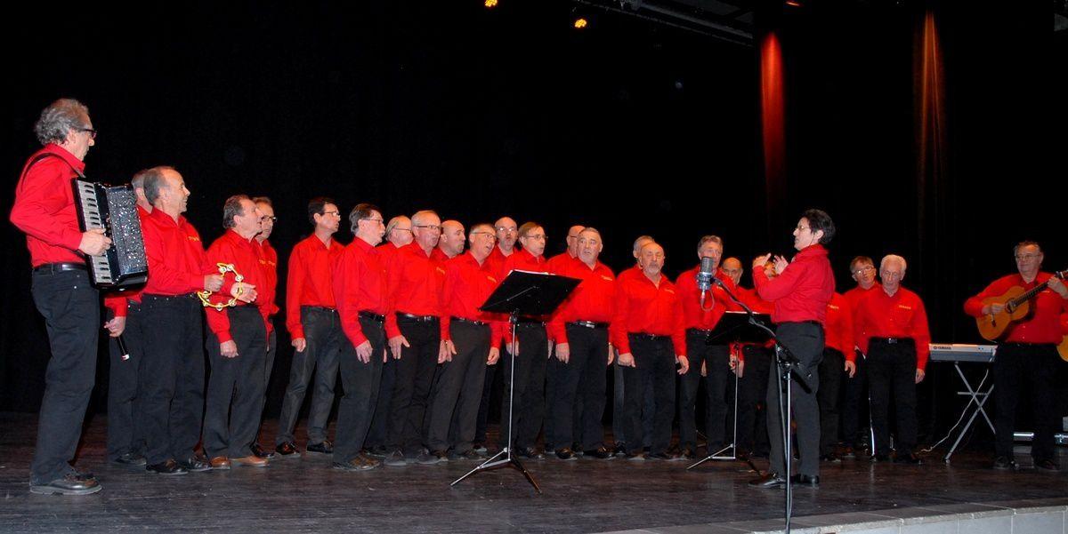 Concert des choeurs graulhétois pour l'Unicef (février 2016)