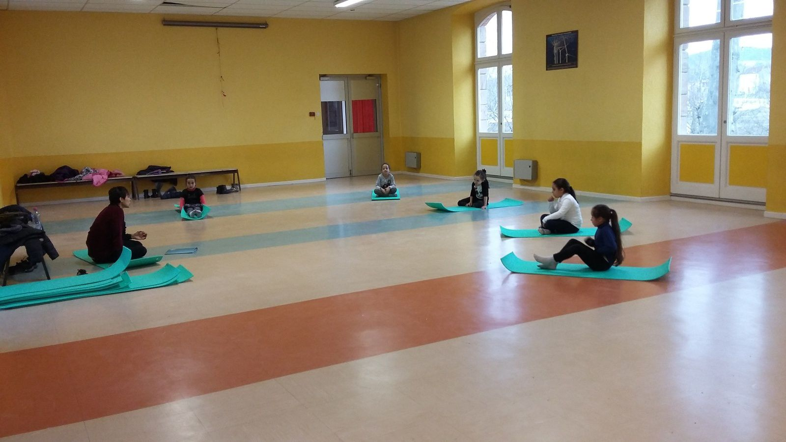 ME Crins: Atelier yoga