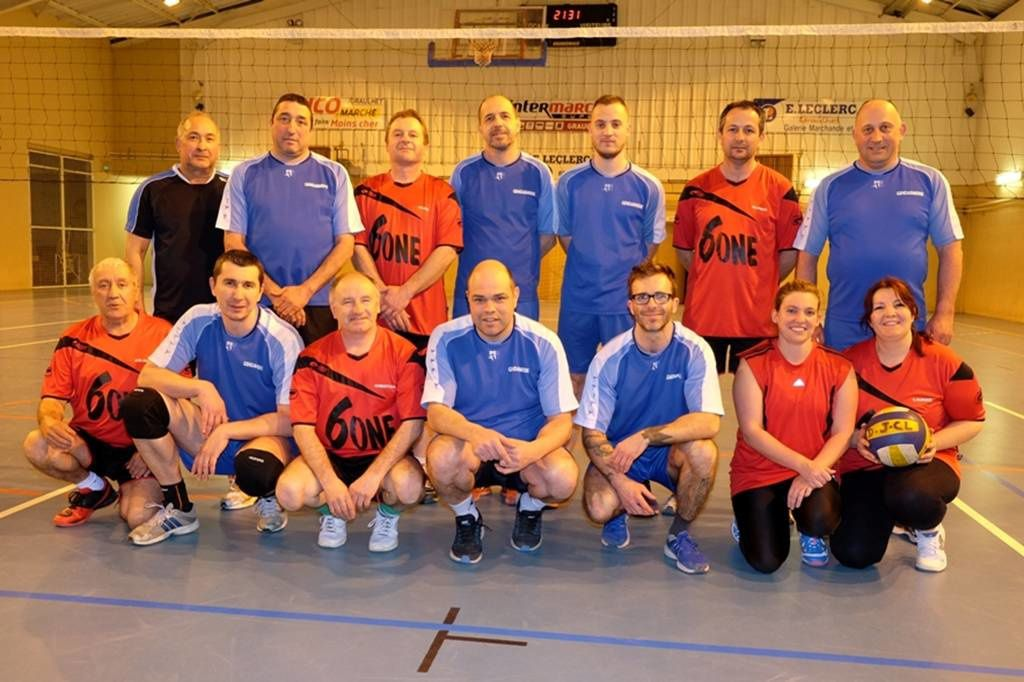 Tournoi de volley 2016-2017