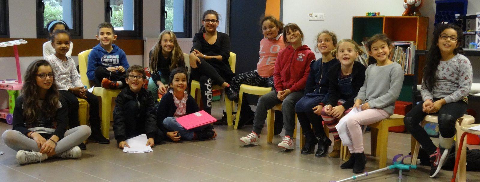 Les enfants de l'atelier d'En Gach joueront leurs pièce le vendredi 5 mai au Forum