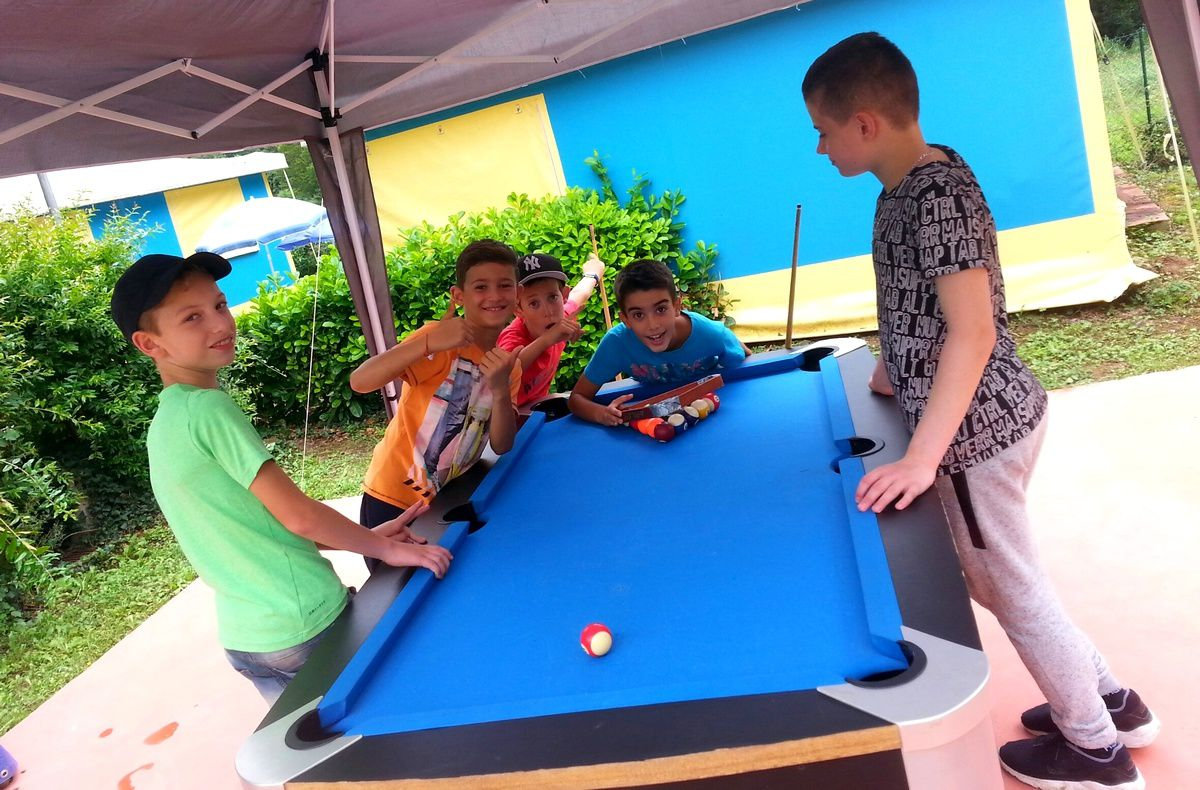 Camp Saint-Antonin 1er séjour 2017 : Lundi 10 juillet