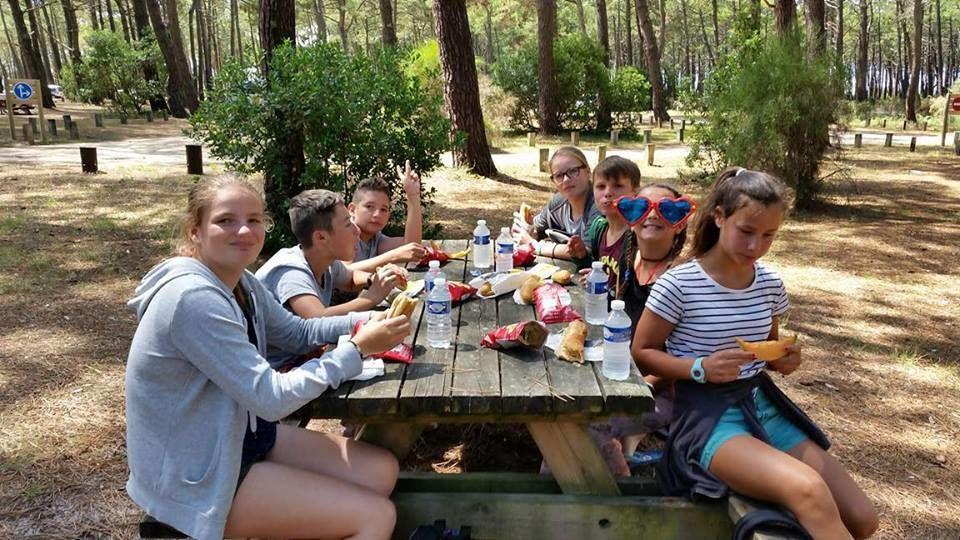 Camp Arcachon 1er séjour 2017 : Jeudi 13 juillet