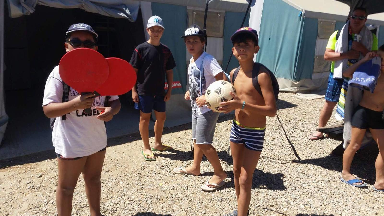 Camp Valras : Mardi 22 août