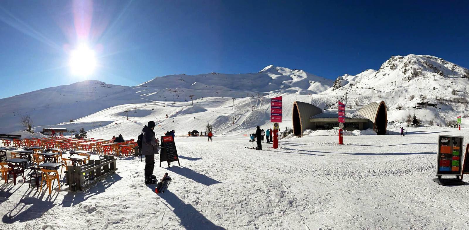 La station de Piau-Engaly mercredi pour la 1ère séance de ski