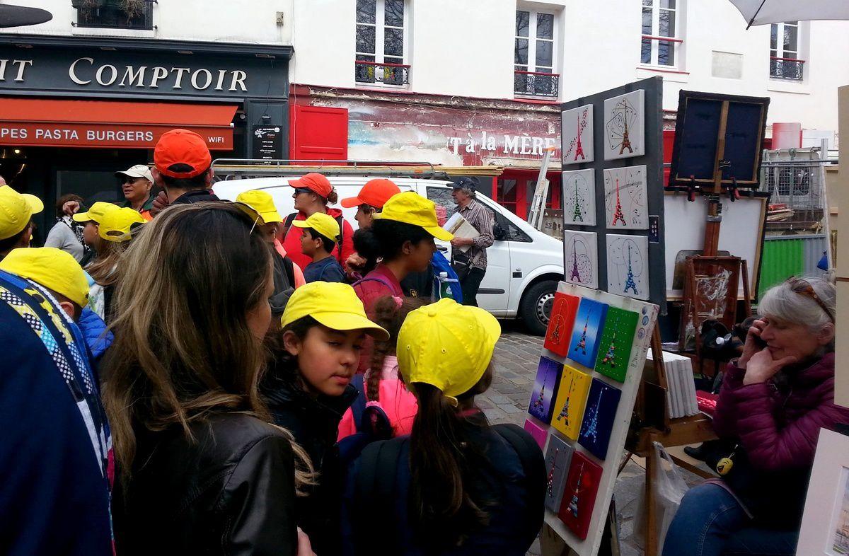 Séjour Paris 2018 : Lundi 16 avril