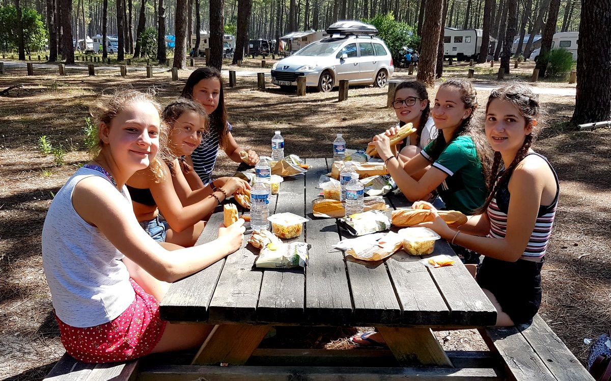Camp Arcachon 1° séjour 2018 : Mardi 10 juillet