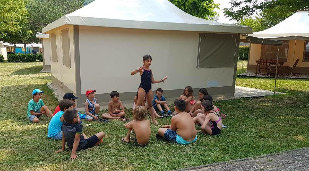 Camp St-Antonin 1° séjour 2018 : Vendredi 13 juillet
