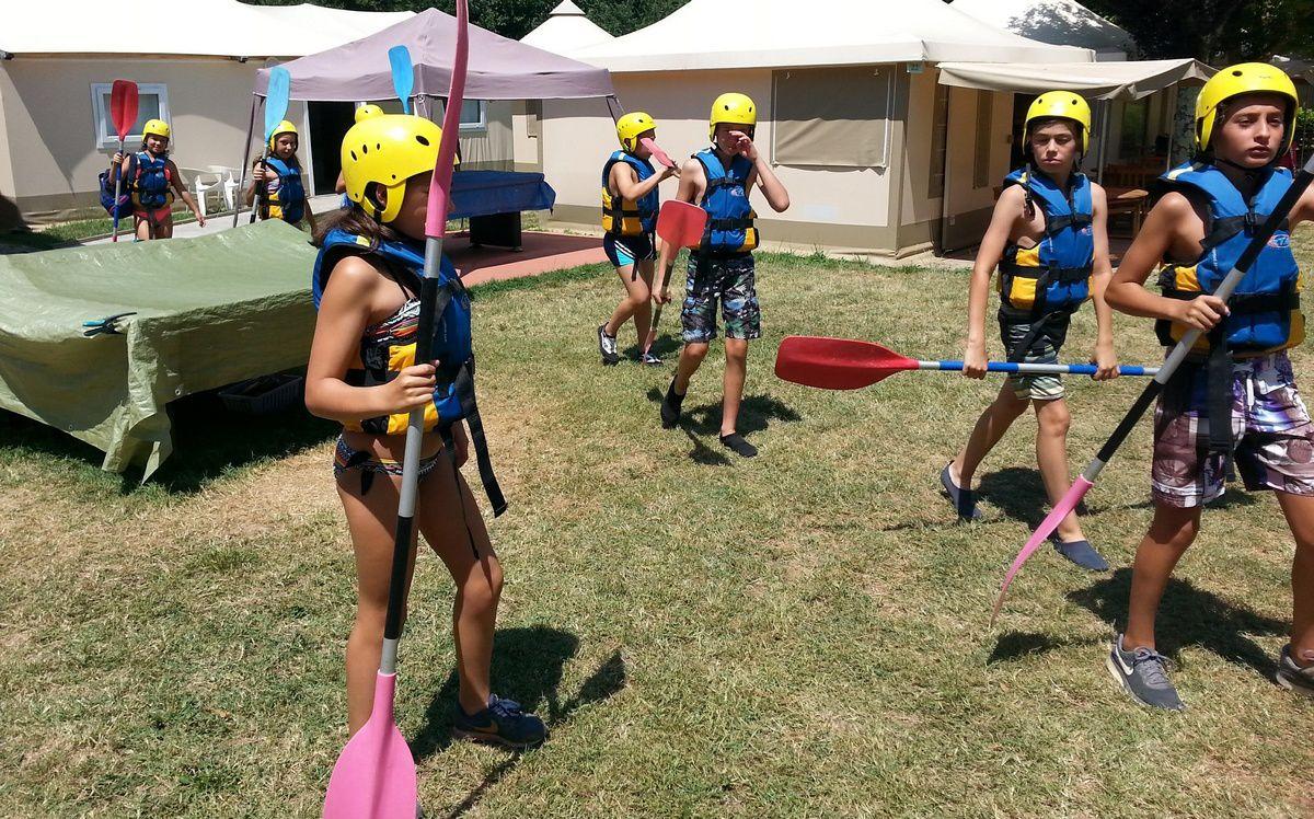 Camp St-Antonin 2°s. 2018 : Mercredi 18 juillet