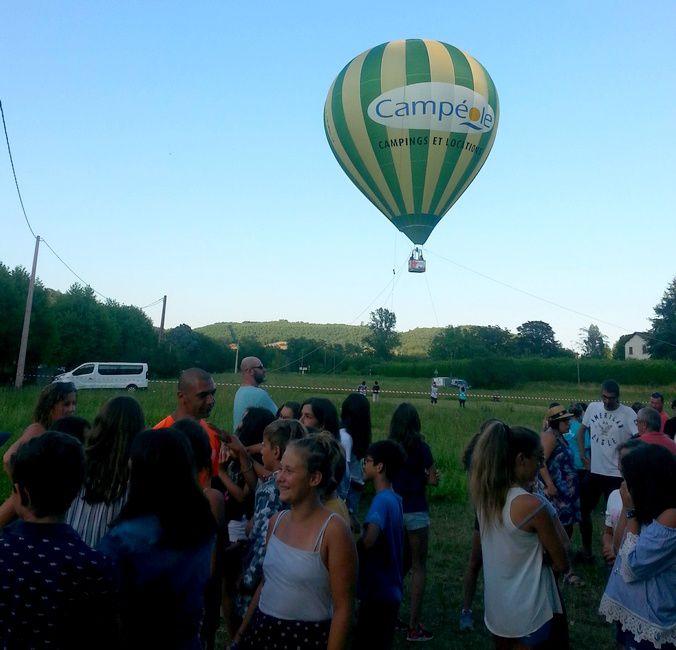 Camp St-Antonin 2°s. 2018 : Spécial montgolfière