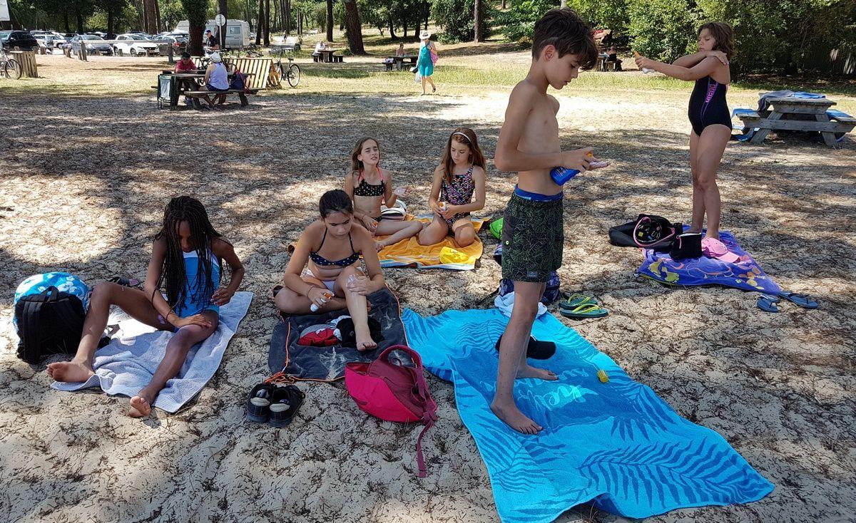 Camp Arcachon 3°s. 2018 : Lundi 23 juillet