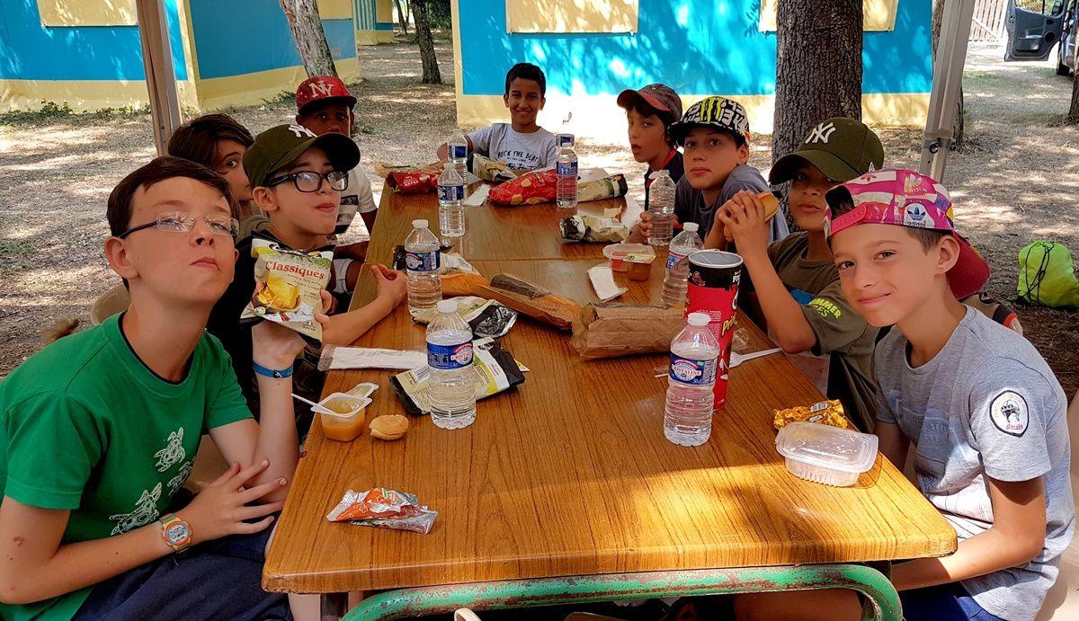 Camp Arcachon 3°s. 2018 : Jeudi 26 juillet