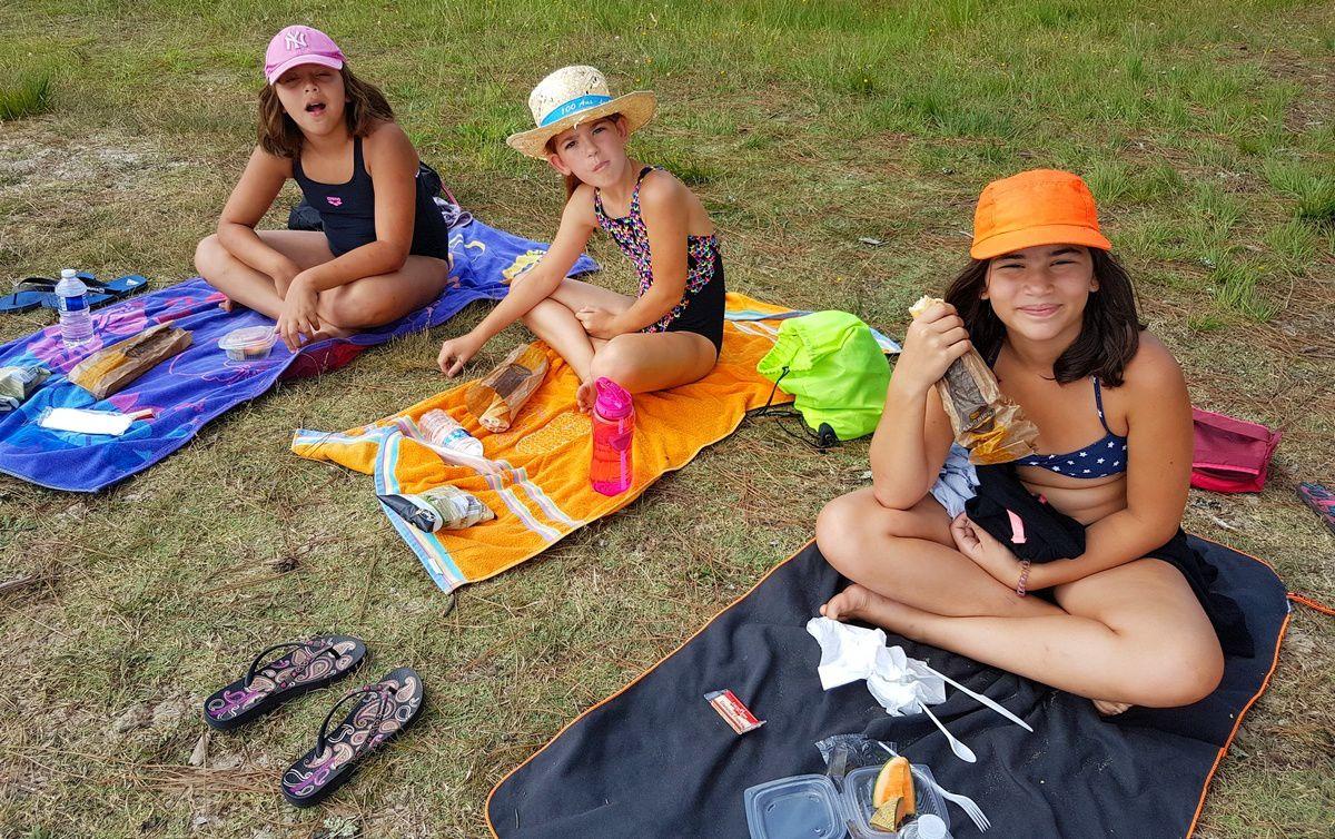 Camp Arcachon 3°s. 2018 : Vendredi 27  juillet
