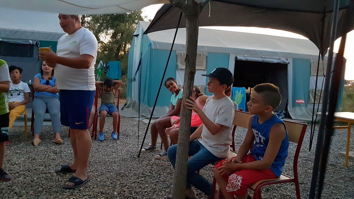 Camp de Valras 2018 : Lundi 20 août