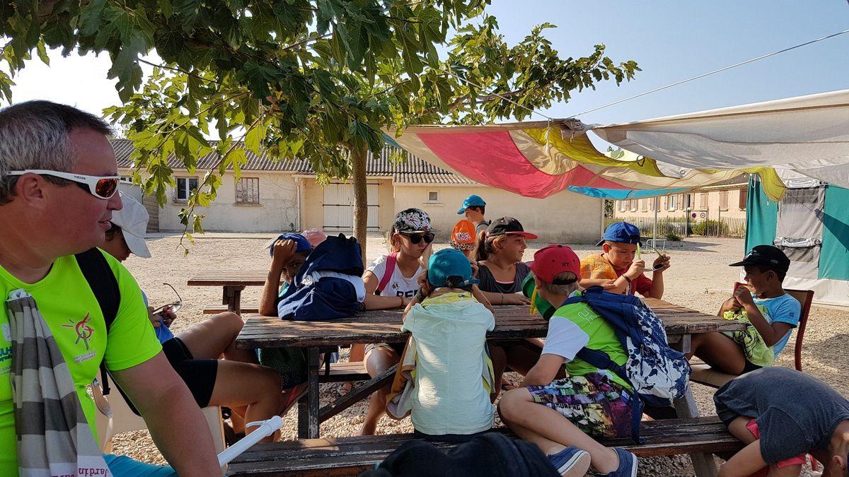 Camp de Valras 2018 : Mercredi 22 août