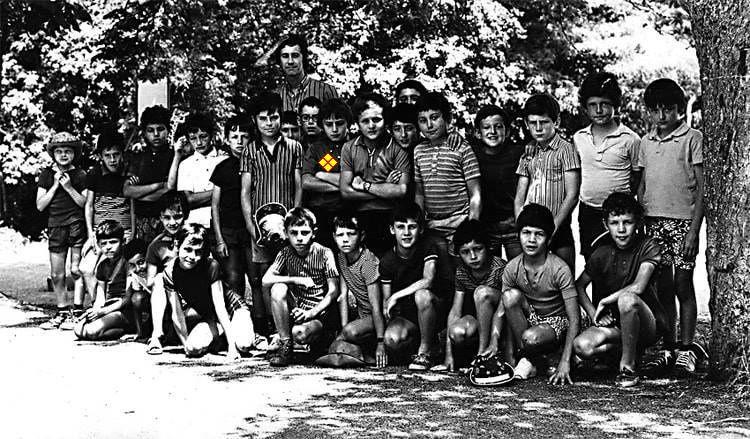 Quand il y était colon, qu'il y buvait du coco, dans l'équipe de Jean Nespoulous, en 1970 sans doute...