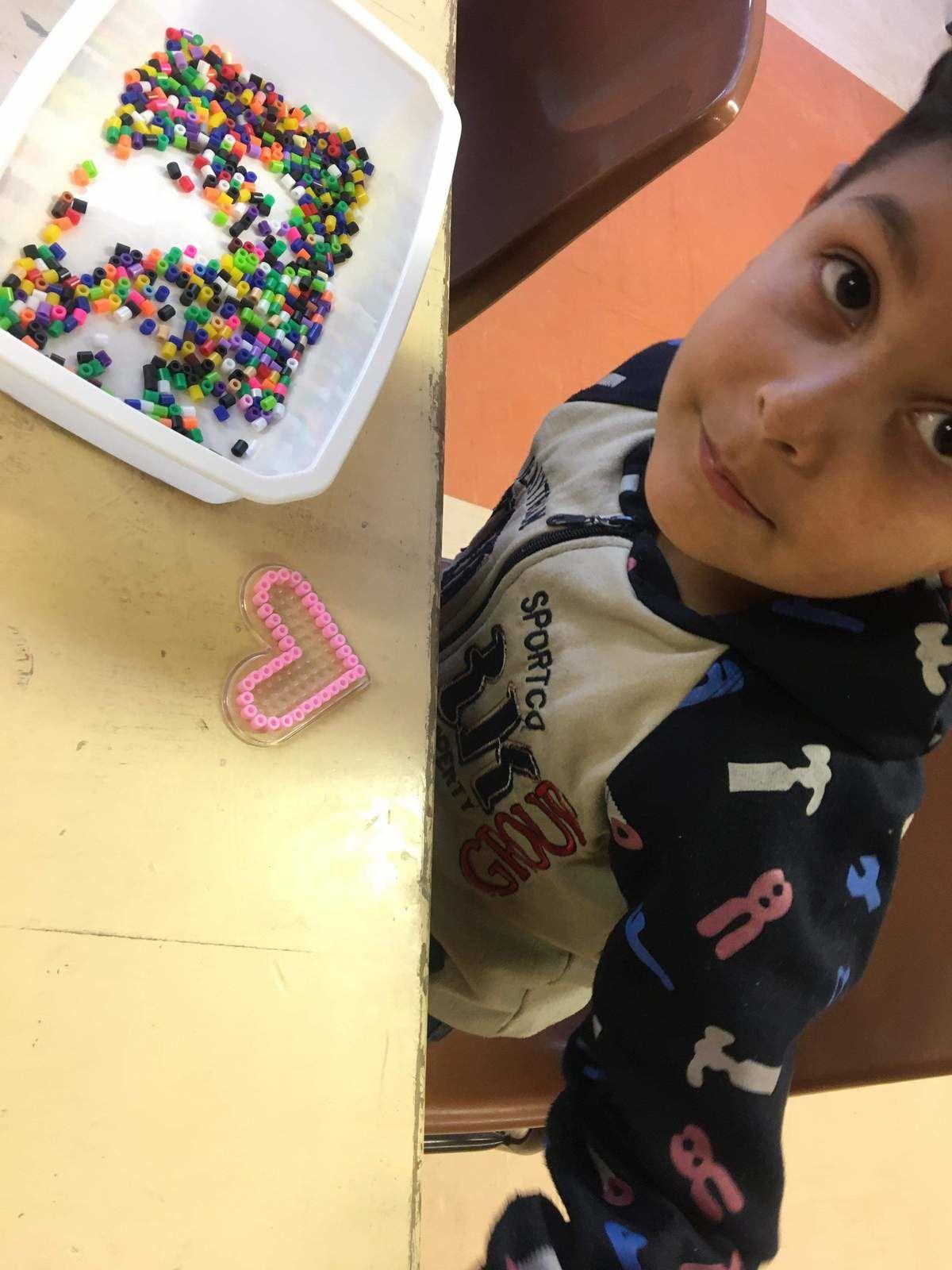 ME Crins : Atelier perles à repasser