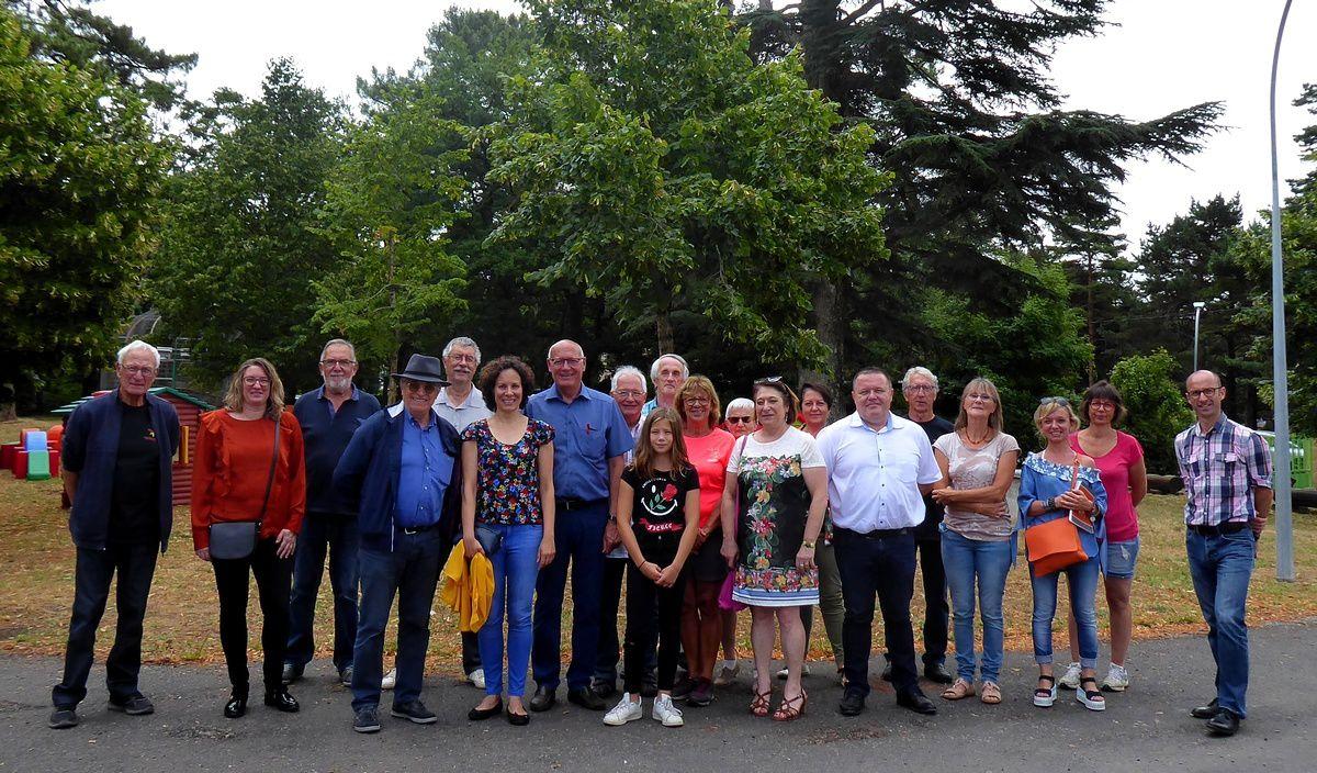 La Courbe été 2019 : Les élus en visite-découverte