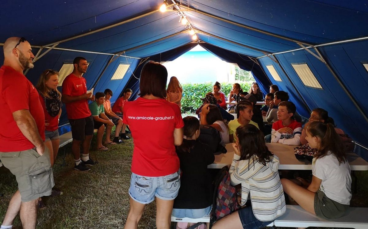 Camp St-Antonin 2019 : Lundi 15 juillet