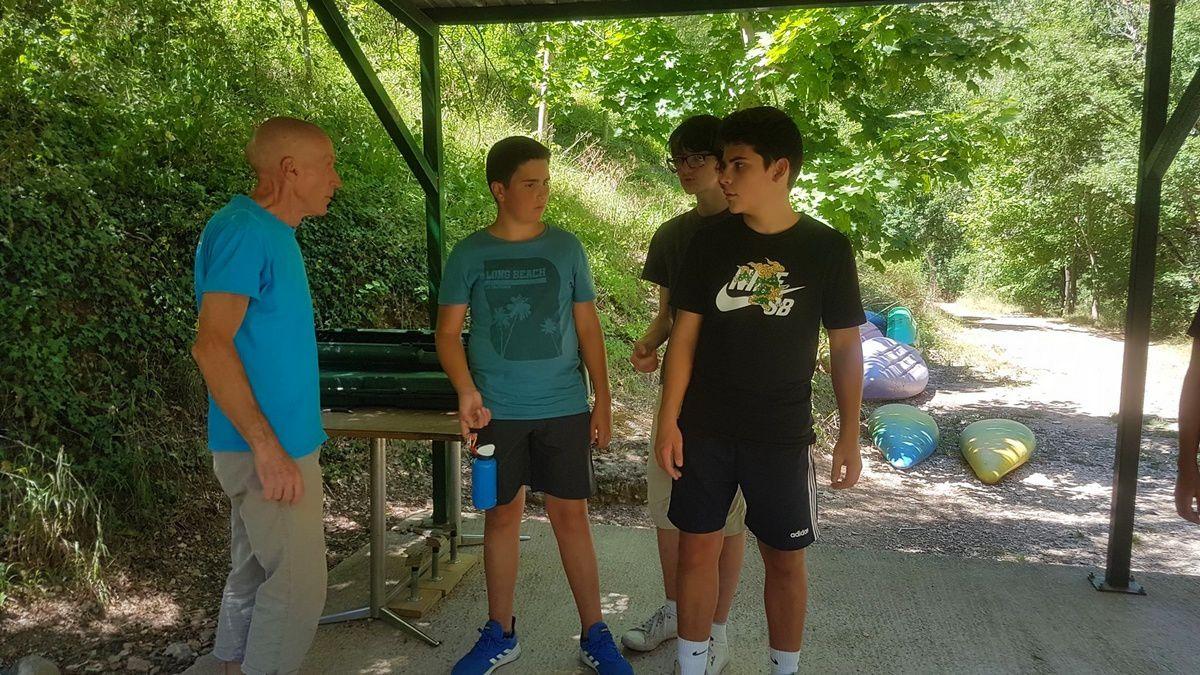 Camp Ste-Énimie 2019 : Lundi 29 juillet