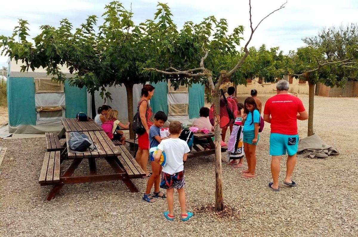 Camp Valras 2019 :  Lundi 19 août