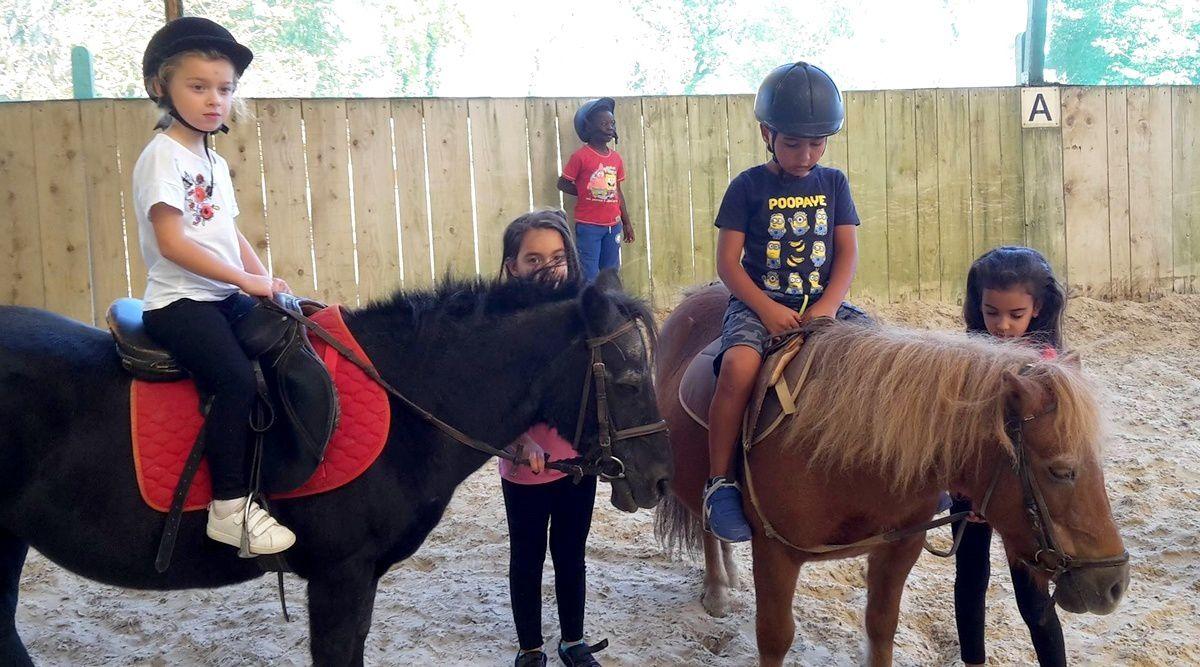 Sortie poneys un mercredi (ME En Gach)