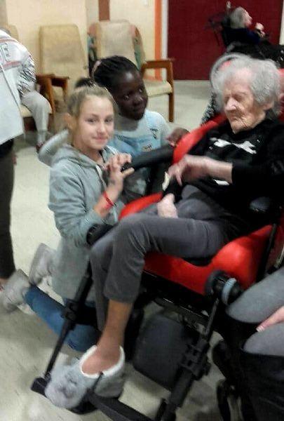 ME En Gach : Visite aux résidents de St-François