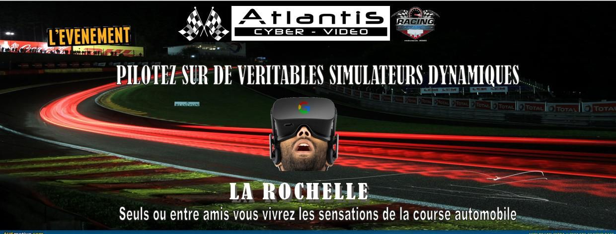 un espace simulation la rochelle chez atlantis simulateur simrace blog. Black Bedroom Furniture Sets. Home Design Ideas