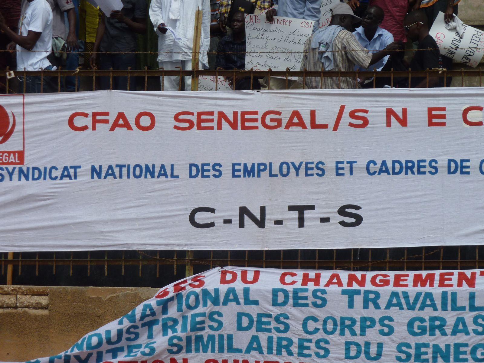 P.I.T-SENEGAL: DECLARATION DU PREMIER MAI 2014.