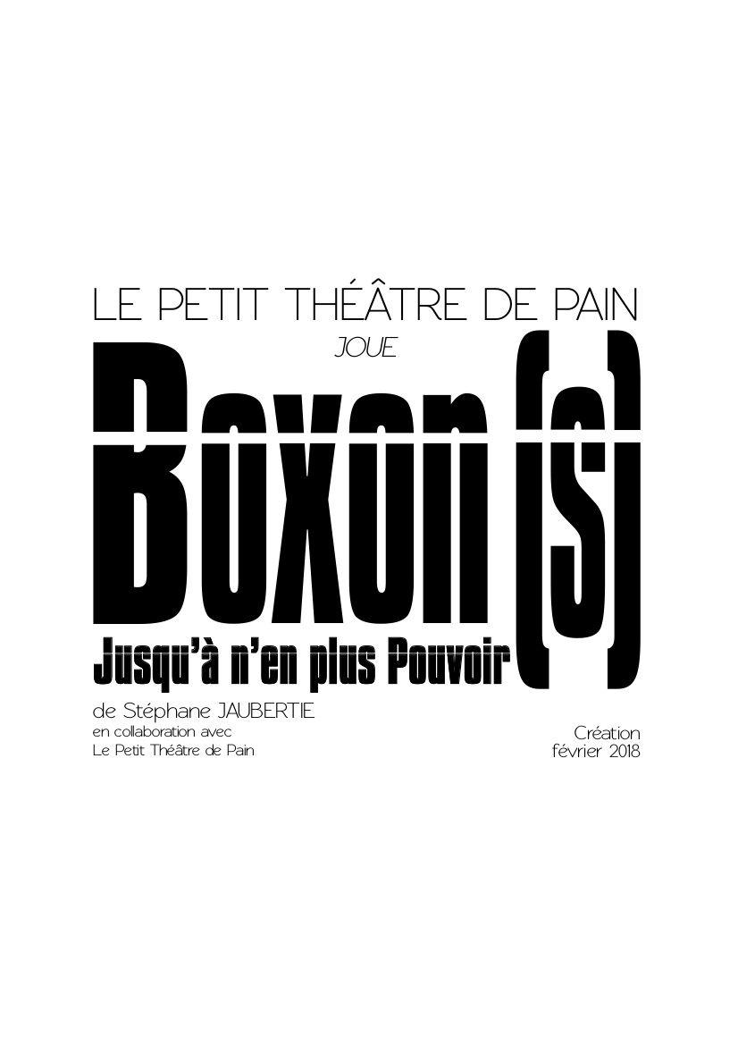 Boxon(s) - Le Petit Théâtre de Pain